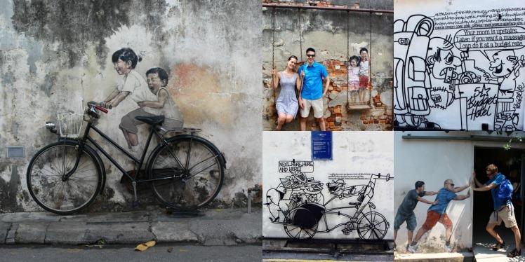 Le Street Art de George Town , Malaisie
