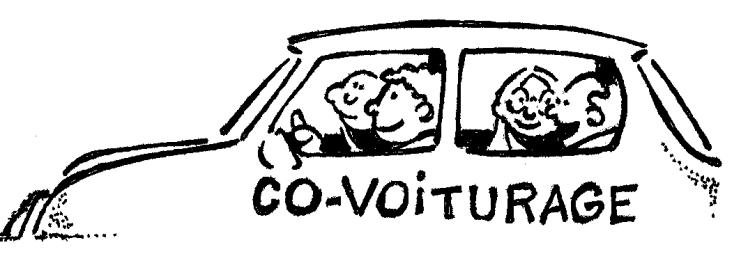 Le covoiturage: une façon économique de voyager et socialiser!