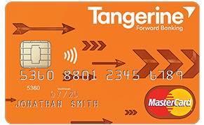 La carte Mastercard Tangerine