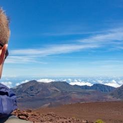 Haleakala National Park, plus de 10 000 pieds au-dessus du niveau de la mer.